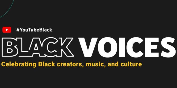 #YouTubeBlack Voices Fund